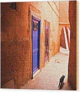 Medina Of Marrakesh Wood Print
