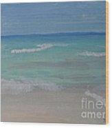 Meditation By The Sea 2 Wood Print