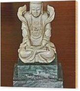 Chineses Meditation Wood Print