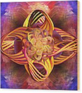 Meditative Energy Wood Print