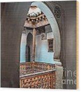 Medrassa In Marrakech Wood Print