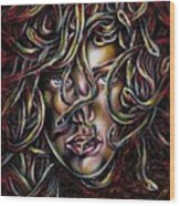 Medusa No. Three Wood Print
