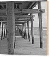 Meet Me Under The Pier. Wood Print