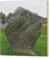 Megalith At Avebury Wood Print
