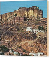 Mehrangarh Fort Wood Print