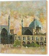 Meidan Emam Esfahan Wood Print
