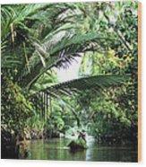 Mekong Delta Backwater 01 Wood Print