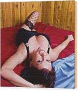 Melissa Go Go 2 Wood Print