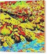 Mellow Yellow 75 Wood Print
