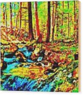 Mellow Yellow 86 Wood Print