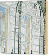 Mellvile Street Doorway Wood Print