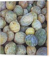 Melons In Sri Lanka Wood Print