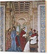 Melozzo Da Forli 1438-1494. Sixtus Iv Wood Print