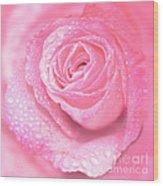 Melting In Pink Wood Print