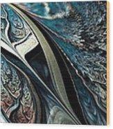 Melting Point Wood Print by Anastasiya Malakhova