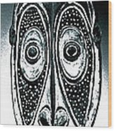 Melvin Too Wood Print