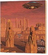 Members Of The Planets Advanced Wood Print
