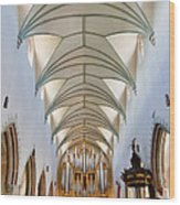 Memmingen Pipe Organ Wood Print