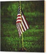 Memorial Day Wood Print