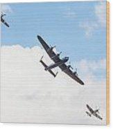 Memorial Flight Wood Print