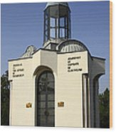 Memorial Of The Victims Of Communism Wood Print