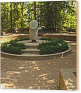 Memorial To The Slaves Wood Print