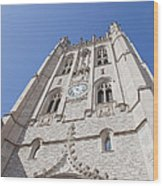 Memorial Union Clock Tower Wood Print by Kay Pickens