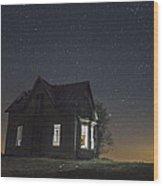 Memories In The Dark Wood Print
