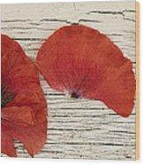 Memories Of A Summer Horizontal Wood Print by Priska Wettstein