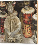 Memories Of Ghana Wood Print