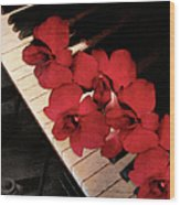 Memories Of The Music Lovers - Vintage Style Wood Print
