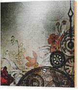 Memories Unlocked Wood Print by Sharon Coty