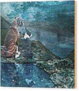 Memory Bay Wood Print by Judy Wood