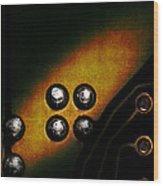 Memory Chip Number Three Wood Print by Bob Orsillo