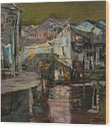 memory of hometown No.6 Wood Print