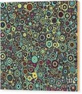 Memory Of Klimt Wood Print