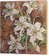 Memory Of Tasha  Wood Print