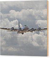 Memphis Belle - Homecoming Wood Print