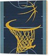 Memphis Grizzlies Court Wood Print