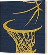 Memphis Grizzlies Hoop Wood Print