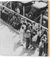 Memphis Unemployed, 1938 Wood Print