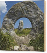 Men An Tol Neolithic Monument Wood Print