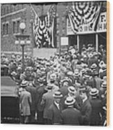 Men At 1912 Republican National Convention Wood Print