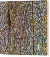 Menage A Tree Wood Print