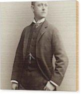 Men's Fashion, 1885 Wood Print