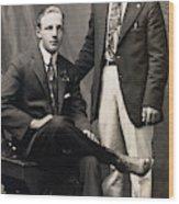 Men's Fashion, 1917 Wood Print