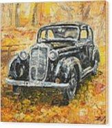 Mercedes 170 S Wood Print