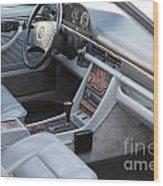 Mercedes 560 Sec Interior Wood Print