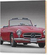 Mercedes-benz 190 Sl Wood Print
