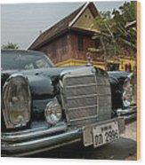 Mercedes Benz 1963 Wood Print